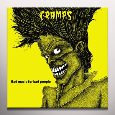 Cramps BAD MUSIC FOR BAD PEOPLE Vinyl Record