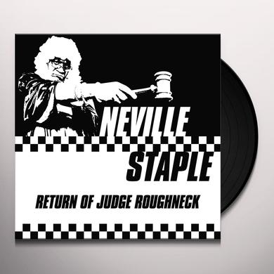 Neville Staple RETURN OF JUDGE ROUGHNECK Vinyl Record