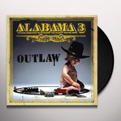 Alabama 3 OUTLAW Vinyl Record