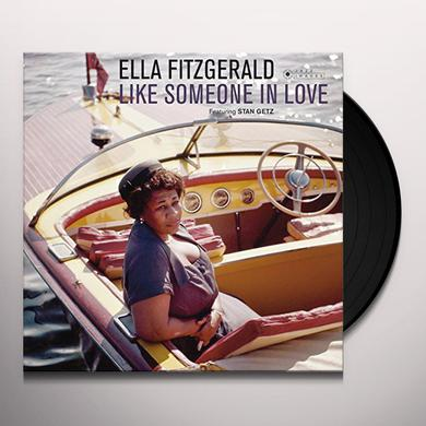 Ella Fitzgerald LIKE SOMEONE IN LOVE Vinyl Record