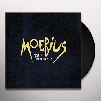 Moebius MUSIK FUR METROPOLIS Vinyl Record
