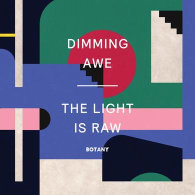 Botany DIMMING AWE: THE LIGHT IS RAW Vinyl Record - Colored Vinyl, Pink Vinyl