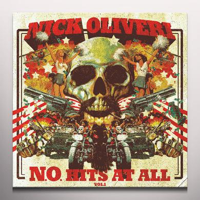Nick Oliveri N.O. HITS AT ALL 1 Vinyl Record - Colored Vinyl, Red Vinyl