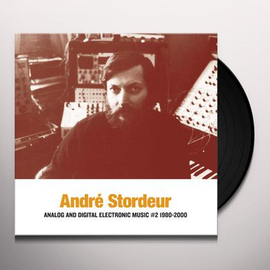 Andre Stordeur ANALOG & DIGITAL ELECTRONIC MUSIC #2 1980-2000 Vinyl Record