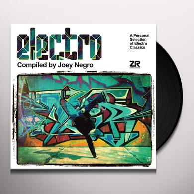 Joey Negro ELECTRO: A PERSONAL SELECTION OF ELECTRO CLASSICS Vinyl Record