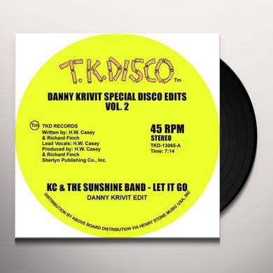 K.C. & SUNSHINE BAND DANNY KRIVIT SPECIAL DISCO EDITS VOL. 2 Vinyl Record