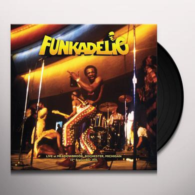 Funkadelic LIVE MEADOWBROOK ROCHESTER MICHIGAN 12TH SEPTEMBER Vinyl Record