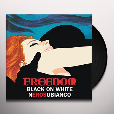Freedom BLACK ON WHITE Vinyl Record - UK Release