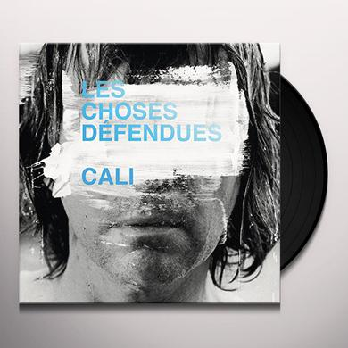 Cali LES CHOSES DEFENDUES Vinyl Record