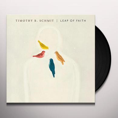 Timothy B Schmit LEAP OF FAITH Vinyl Record