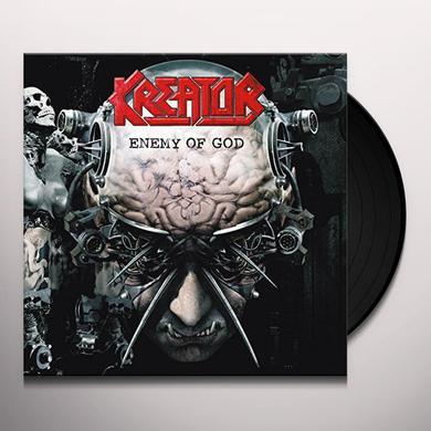 Kreator ENEMY OF GOD RE-RELEASE Vinyl Record
