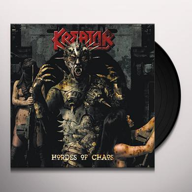 Kreator HORDES OF CHAOS RE-RELEASE Vinyl Record