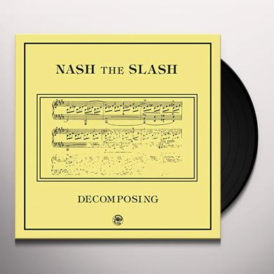Nash the Slash DECOMPOSING Vinyl Record
