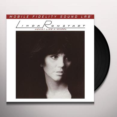 Linda Ronstadt HEART LIKE A WHEEL Vinyl Record - Limited Edition, 180 Gram Pressing