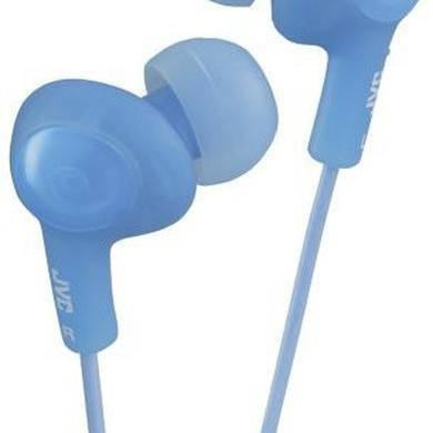 Headphones JVC HAFX5A GUMY PLUS EARBUDS BLUE
