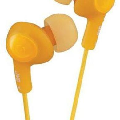 Headphones JVC HAFX5D GUMY PLUS EARBUDS ORANGE