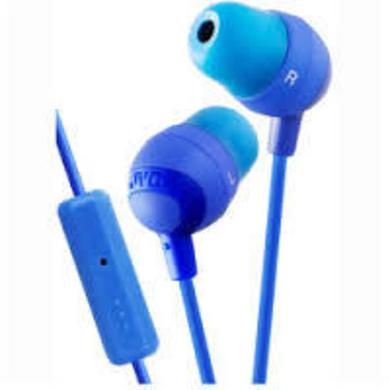 Headphones JVC HAFR37A MARSHMALLOW EARBUDS MIC & REMOTE BLUE