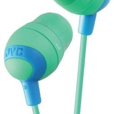 Headphones JVC HAFX32G MARSHMALLOW EARBUDS GREEN