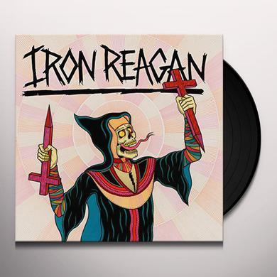 Iron Reagan CROSSOVER MINISTRY Vinyl Record