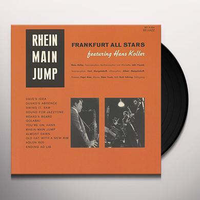 Albert Mangelsdorff & Frankfurt All Stars RHEIN MAIN JUMP Vinyl Record