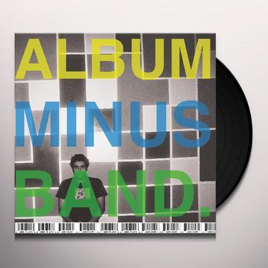Bomb The Music Industry ALBUM MINUS BAND Vinyl Record