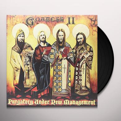 Goatess PURGATORY UNDER NEW MANAGEMENT Vinyl Record