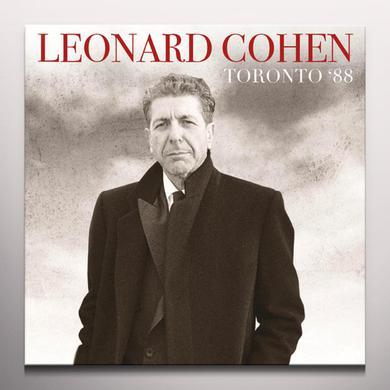 Leonard Cohen TORONTO 88 Vinyl Record