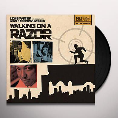 Lewis Parker WALKING ON A RAZOR Vinyl Record