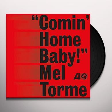 Mel Torme COMIN HOME BABY Vinyl Record