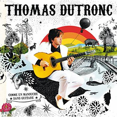 Thomas Dutronc COMME UN MANOUCHE Vinyl Record