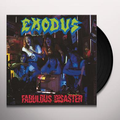 Exodus FABULOUS DISASTER Vinyl Record