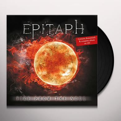 Epitaph FIRE FROM THE SOUL Vinyl Record