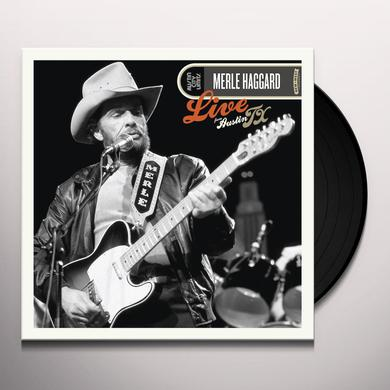 Merle Haggard LIVE FROM AUSTIN TX Vinyl Record