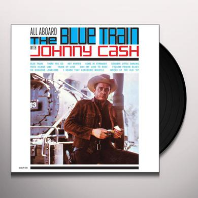 ALL ABOARD THE BLUE TRAIN WITH JOHNNY CASH Vinyl Record