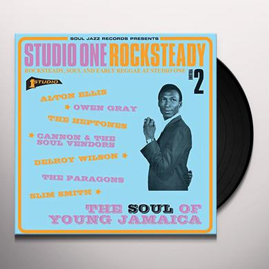 Soul Jazz Records Presents STUDIO ONE ROCKSTEADY 2 Vinyl Record
