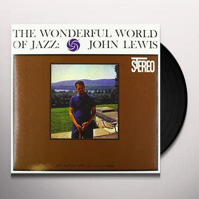 John Lewis WONDERFUL WORLD OF JAZZ Vinyl Record