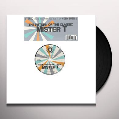 Mister T. RETURN OF THE CLASSIC Vinyl Record