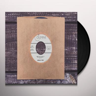 Jungle Fire N.U.S.A.U. / LA KOSSA Vinyl Record