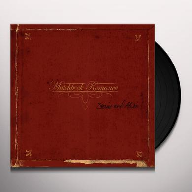 Matchbook Romance STORIES & ALIBIS Vinyl Record