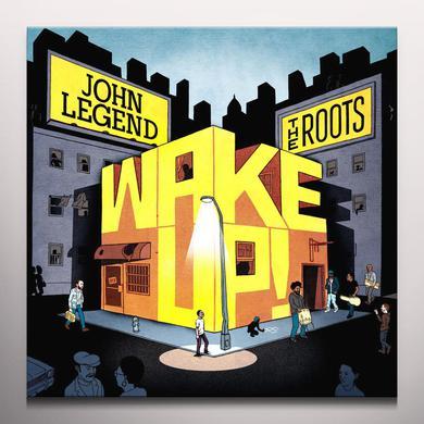 John Legend WAKE UP! Vinyl Record - Orange Vinyl