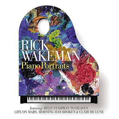 Rick Wakeman PIANO PORTRAITS Vinyl Record