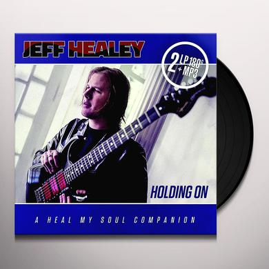 Jeff Healey HOLDING ON Vinyl Record