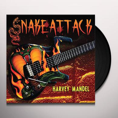 Harvey Mandel SNAKE ATTACK Vinyl Record