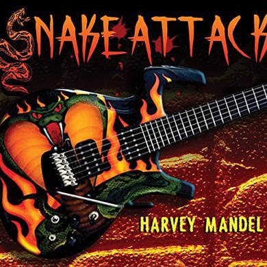 Harvey Mandel SNAKE ATTACK Vinyl Record