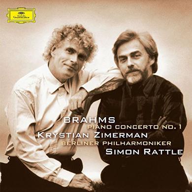 Brahms / Zimerman / Berliner Philharmoniker PIANO CONCERTO 1 Vinyl Record