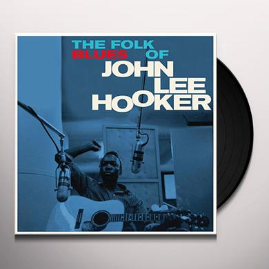 John Lee Hooker FOLK BLUES OF + 3 BONUS TRACKS Vinyl Record