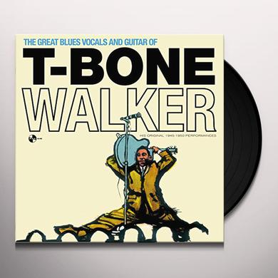 T-Bone Walker GREAT BLUES VOCALS & GUITAR OF + 4 BONUS TRACKS Vinyl Record