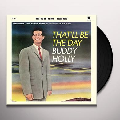 Buddy Holly THAT'LL BE THE DAY + 2 BONUS TRACKS Vinyl Record