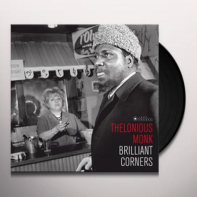 Thelonious Monk BRILLIANT CORNERS (COVER PHOTO JEAN-PIERRE LELOIR) Vinyl Record