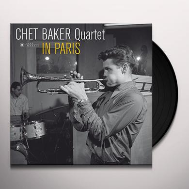Chet Baker IN PARIS (PHOTO COVER BY JEAN-PIERRE LELOIR) Vinyl Record